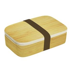 "5"" x 7.8"" - Natural Lunch Box- Bamboo Fiber Product"