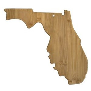 "12.25"" x 13.5"" - Bamboo State Cutting Boards - All States Available - Laser Engraved Wood"