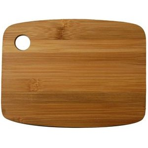 "6"" x 8"" - Bamboo Wood Cheese Cutting Board - Laser Engraved"