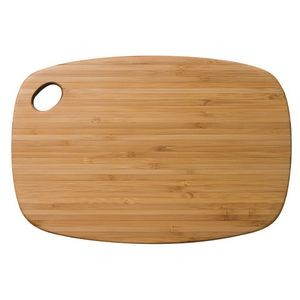 "7.25"" x 10.75"" - Dishwasher Safe Bamboo Cutting Boards - Laser Engraved Wood"