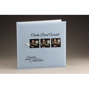 "8"" x 8"" - Premium Leatherette Albums - Color Printed"