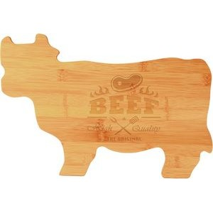 "9.75"" x 14.75"" - Wood Cutting Boards - Animal Shaped - Laser Engraved"